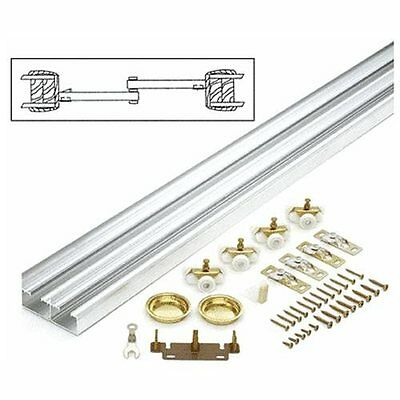 """CRL 60"""" By-Pass Hardware Set 2 Doors For 1-3/4"""" (44.5 mm) Thick Doors"""