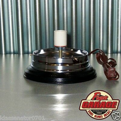 Lighted Gas Pump Globe Base for your Gas Station - Garage - Man Cave