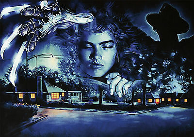 A Nightmare on Elm Street (1984) V4 - A1/A2 Poster **BUY ANY 2 AND GET 1 FREE**