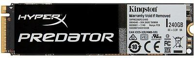 Kingston HyperX Predator PCIe 240GB Gen2 x4 (M.2) [SHPM2280P2/240G]