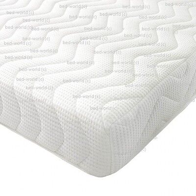 For Adults And Kids Reflex Memory All Foam Mattress 3Ft Single 4Ft6 Double 5Ft
