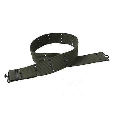 Rothco Canvas Pistol Belt - Olive Drab / 42""