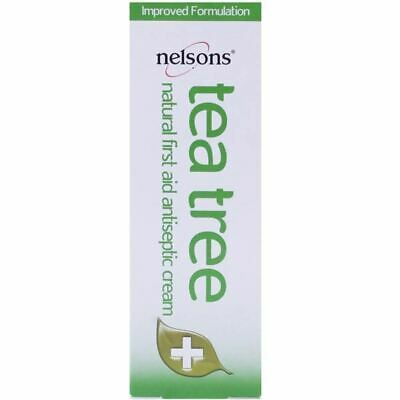 Nelsons Tea Tree Cream | Natural First Aid Antiseptic | 30ml