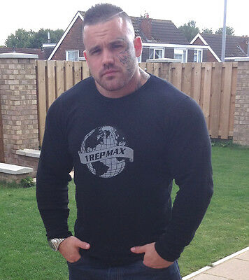Bodybuilding Ribbed Top by 1 Rep Max - Long Sleeve - Muscle Fitness Clothing