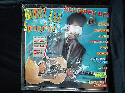 Bobby Lee Springfield - All fired up     ..............................Vinyl