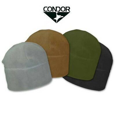 Condor WC Tactical Military Micro Fleece Watch Cap Beanie Hat Cold Weather