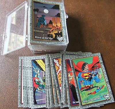 1993 SkyBox The Return Of Superman Complete 100 Card Trading Card Set