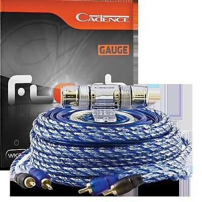Cadence WK01 High power 0 gauge car audio amp kit with RCA cable