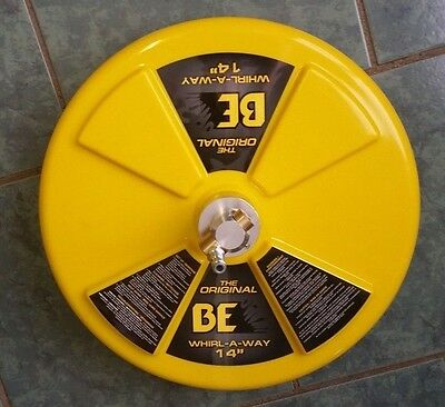 """BE Pressure 14"""" Whirl-A-Way Flat Surface Cleaner Part# 85.403.014"""