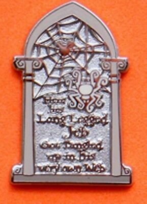 JEB THE SPIDER HAUNTED MANSION TOMBSTONES Hidden Mickey Disney Pin 72107