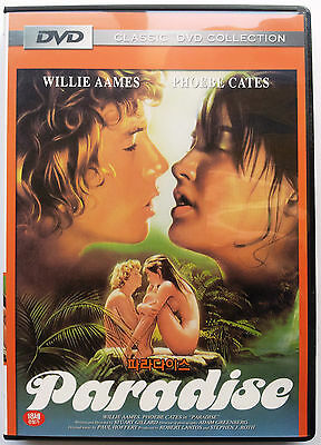 Paradise - Pheobe Cates Willie Aames - Uncut - Great Classic 80s Adult DVD (NEW)