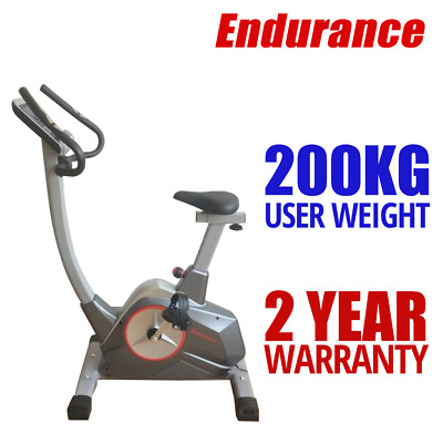 Recumbent Exercise Bike IPAD/BOOK STAND Fitness 180KG User Weight MAGNETIC