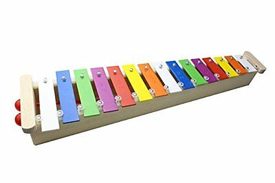 ProKussion 15 Key Alto Glockenspiel Xylophone with 2 Free Beaters