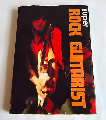 SUPER ROCK GUITARIST JAPAN BOOK 1972 Jeff Beck Jimmy Page Rory Gallagher Hendrix
