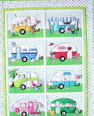 Campers - fun pieced & applique quilt PATTERN from Amy Bradley