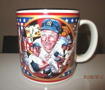 Coffee cup Mickey Mantle Sports Impressions Mickey in the Sixties Collector 1995