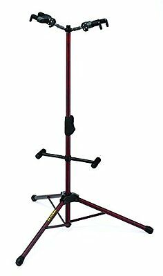 Hercules GS422B Acoustic Electric or Bass DUAL Guitar Stand