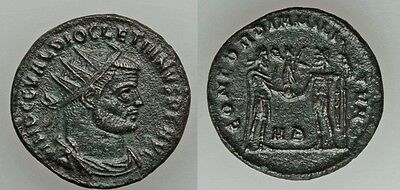 Ancient Rome Diocletian AD 284-305 AE antoniani #1