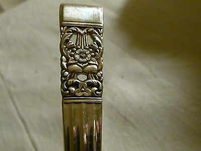"LOT B vtg  COMMUNITY silverplate LARGE SERVING SPOON 8 1/2"" L   coronation"