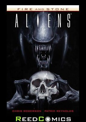 ALIENS FIRE AND STONE GRAPHIC NOVEL New Paperback Collects Issues #1-4