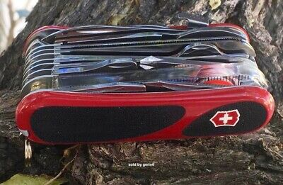 Victorinox Swiss Army Knife, EvoGrip Red/Black S54, # 2.5393.SCUS2, New In Box