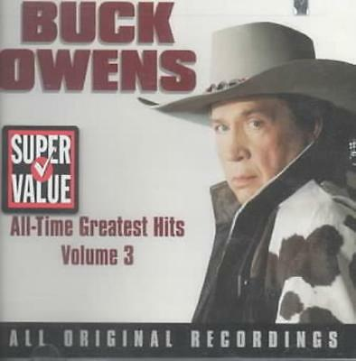 Buck Owens - All-Time Greatest Hits, Vol. 3 New Cd