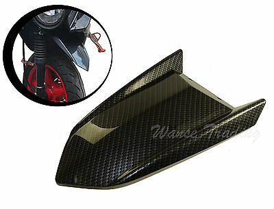 Type2 Front Tire Fender Mudguard Mud Flap Guard Carbon For YAMAHA Zuma BWS X 125