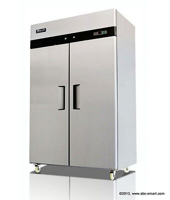 NEW MIGALI COMMERCIAL 2-DR FREEZER C-2F RESTAURANT EQUIPMENT REACH IN PREP COLD