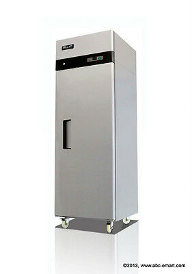 NEW MIGALI COMMERCIAL 1-DR REFRIGERATOR 23 CU. FT. NSF REACH IN PREP COLD