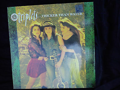 Triplets - Thicker than water  ..........................Vinyl