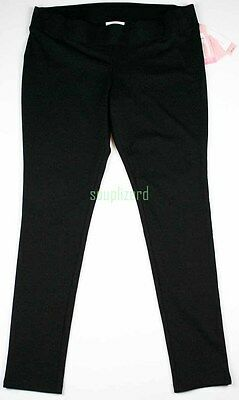 New Liz Lange Maternity Leggings Black Under Belly Ponte Pants NWT sz Size S M
