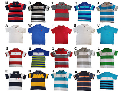 *nwt - Wrangler - Infant Boy's Ss Polo Shirt- Size: 12M - 5T
