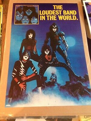 Kiss Creatures Of The Night Album Promo Poster