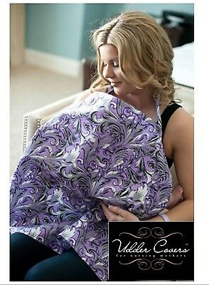 Udder Covers ~ AUBREY ~ Breastfeeding Nursing Privacy Cotton Cover  NEW!