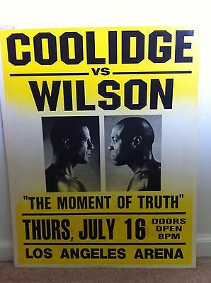 ORIGINAL Pulp Fiction Prop Poster w/ Original Auction Catalog, Willis, Tarantino