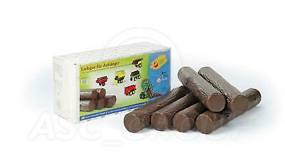 Rolly Toys -  6x Plastic Play LOGS Timber Trees  NEW - UK STOCK