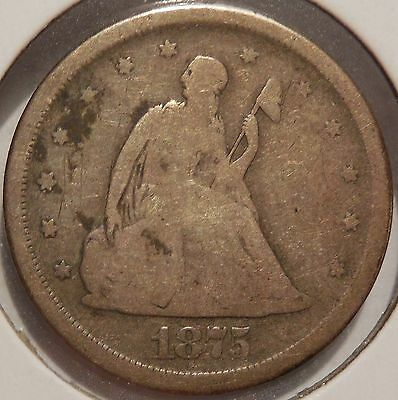 1875-S 20 Cent Coin