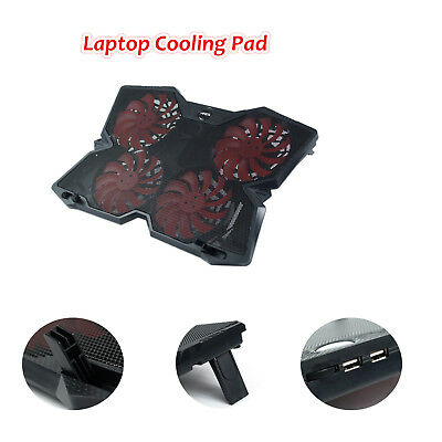 """ARES N5 Full Size 4 Fans Laptop Cooler Notebook Cooling Pad For 12"""" - 17"""" Laptop"""