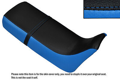 Light Blue & Black Custom Fits Honda Xrv 650 Africa Twin Rd03 Dual Seat Cover