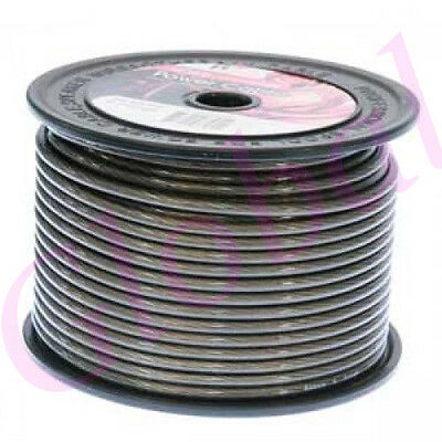 8Ga 8 Gauge Awg Grey Power Wire Cable Car Audio For Amplifier Amp (Per Metre)