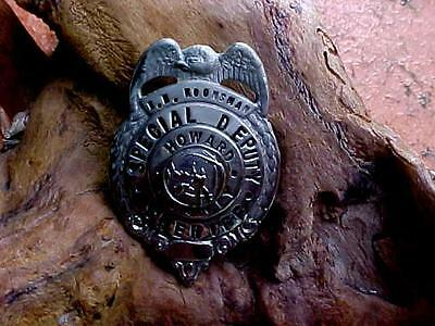 obsolete special deputy sheriff  badge howard co.  state of indiana
