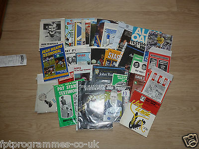 Testimonial Programmes. Player Surname M-Y   Select the one you want