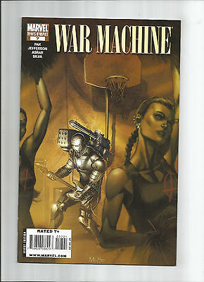 War Machine #7  Iron Jam Variant (8.5) Marvel