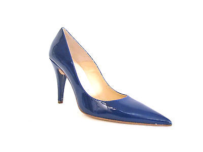 39 Blue M Darre' Cobalt Shoes 9 Pointy Heel High New Pierre Leather Toe Patent CxdBWQroe