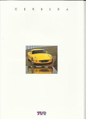 TVR CERBERA 4.0, 4.2, AND 4.5 SALES BROCHURE LATE 90's