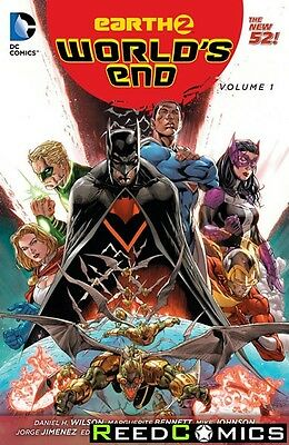 EARTH 2 WORLDS END VOLUME 1 GRAPHIC NOVEL New Paperback Collects Issues #1-11