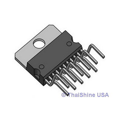 TDA2009A TDA2009 10 + 10W STEREO AMPLIFIER IC by ST - USA Seller - Free Ship