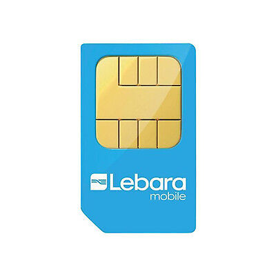 Lebara PAYG UK Triple Sim Pack