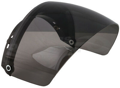 GMax 3 Snap Flip Up Shield for Open Face Helmet Smoke