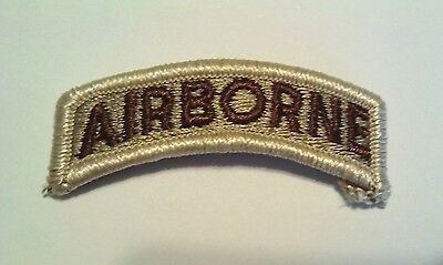 Airborne Tab Desert Storm Sew On Regulation Tab  Made in America